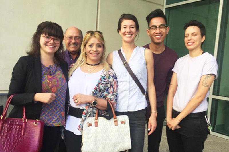 """Cecilia Gómez: """"Casi fui una estadística más de inmigración"""""""