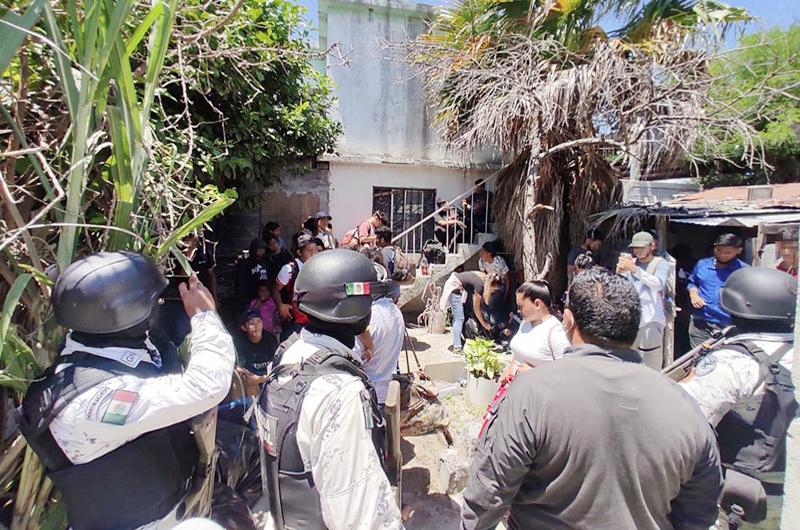 Autoridades mexicanas interceptan a 55 migrantes en el norte del país