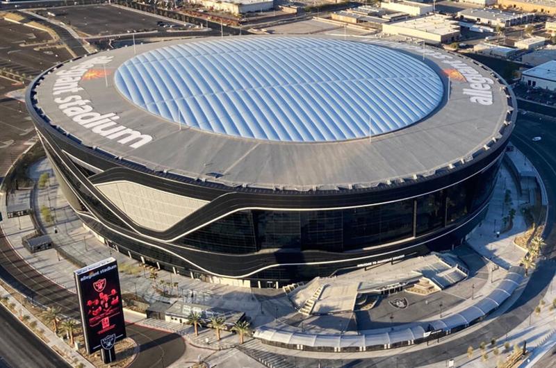 El Allegiant Stadium se viste de largo con la final de la Copa Oro