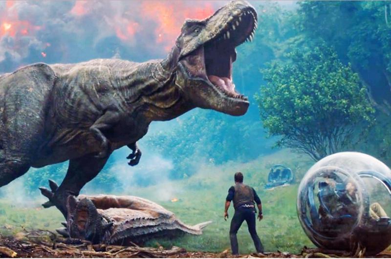 """Película """"Jurassic World el reino caído"""", la más taquillera en México"""