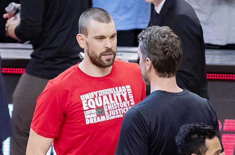 """Baloncetista Pau Gasol: """"Sería muy especial"""" jugar en los Lakers con Marc"""