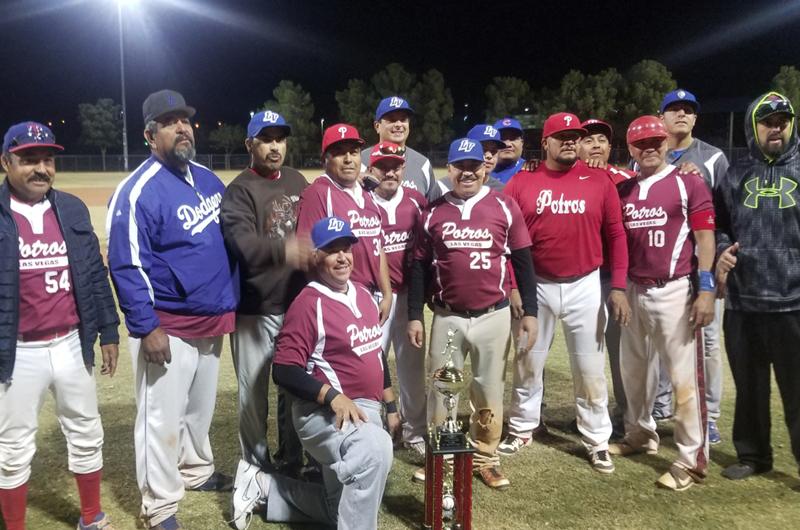 Las Vegas Baseball League: Potros no creyó en Ángeles