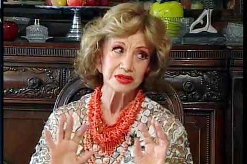 Ana Luisa Peluffo actuó en más de 60 películas