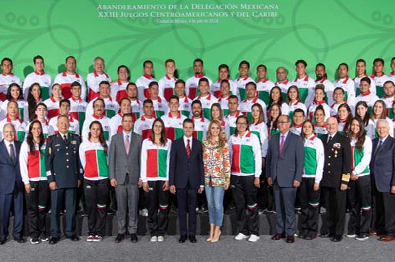 México la selección más numerosa en Barranquilla, Colombia