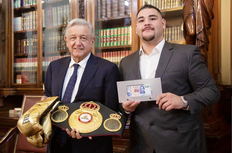 Boxeador Andy Ruiz hizo emotiva y emocionante visita a CDMX
