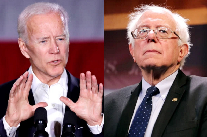 Biden y Sanders disputan la candidatura demócrata