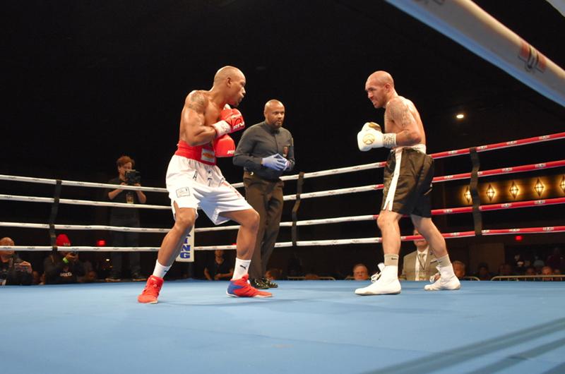 Reid Boxing presentó velada boxística para el recuerdo