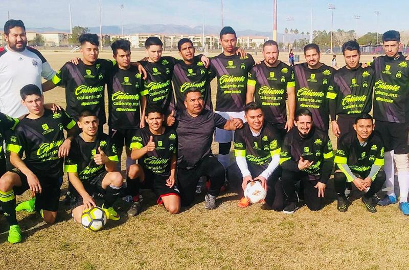 Nevada Soccer League: Cuatro equipos en un sofá
