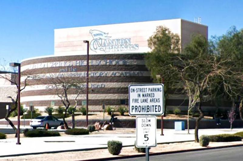 En trágico incidente muere estudiante de Canyon Spring HS