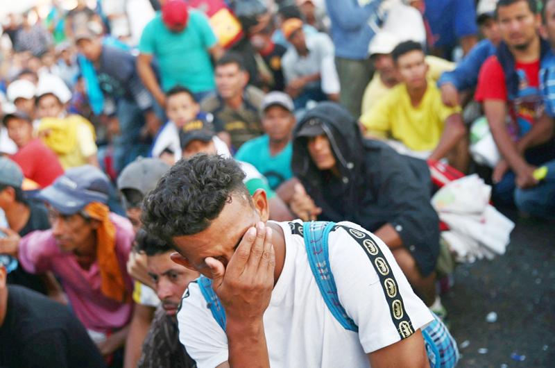 Refuerzan vigilancia en refugio de migrantes en Chiapas