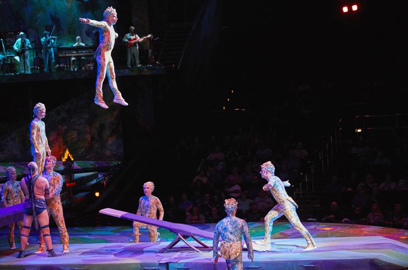 Mystère del Cirque du Soleil : Desde las alturas… el sueño de Roberto