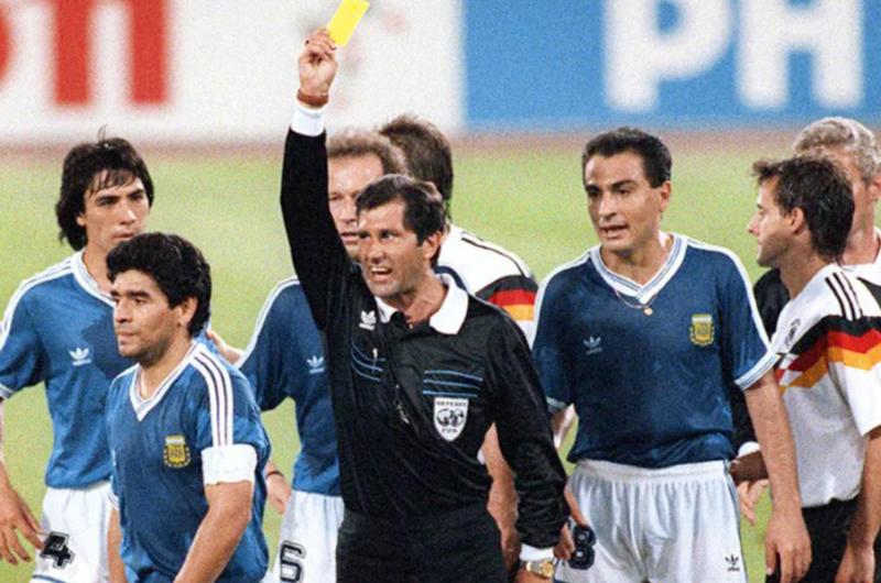 """Edgardo Codesal: """"Quería que Argentina ganara en Italia 90"""""""