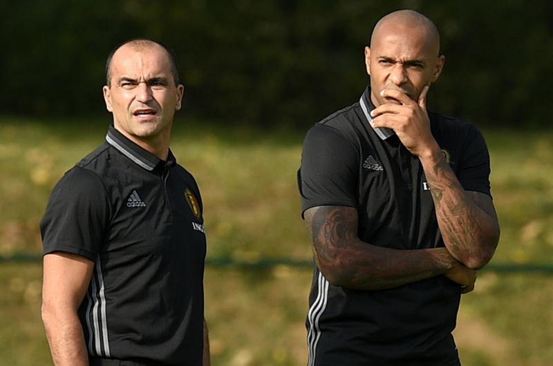 Olivier Giroud lamenta que Thierry Henry entrene el ataque belga