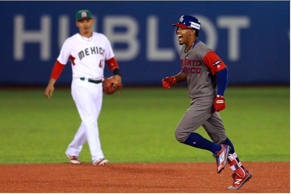 México sufre tercer revés en beisbol de JCC, 1-7 con Puerto Rico