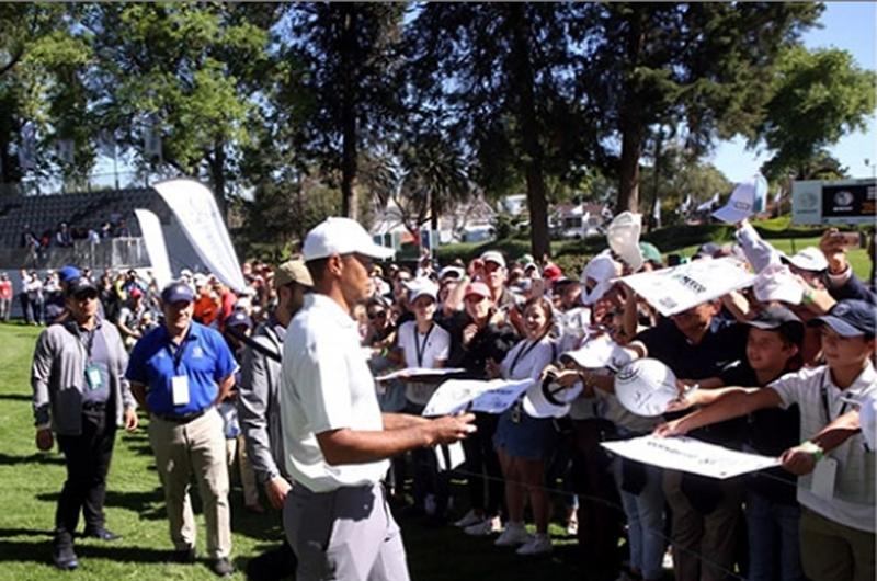 Altitud de la Ciudad de México, principal reto de golfista Tiger Woods