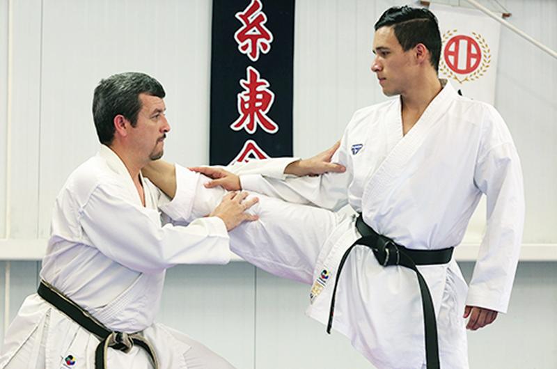 Karateca Jesús Rodríguez, con oro y con pase para México a Lima 2019