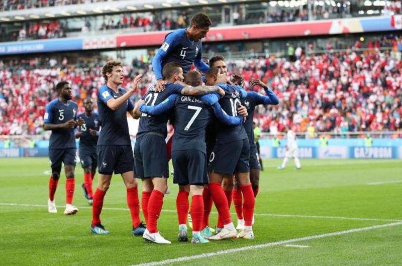 Con empate sin goles, Francia y Dinamarca sellan su boleto a