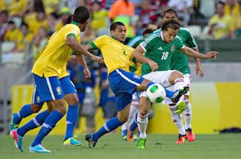 """México pierde 0-2 con Brasil y se termina el sueño del """"quinto partido"""""""