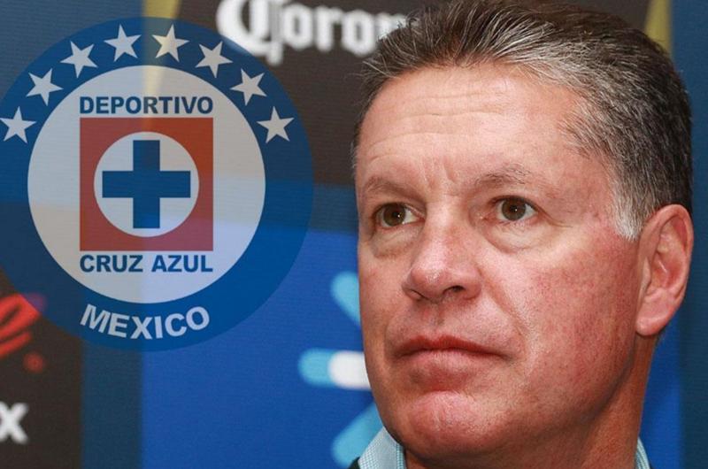 Ricardo Peláez, ilusionado de conseguir su primer título con Cruz Azul