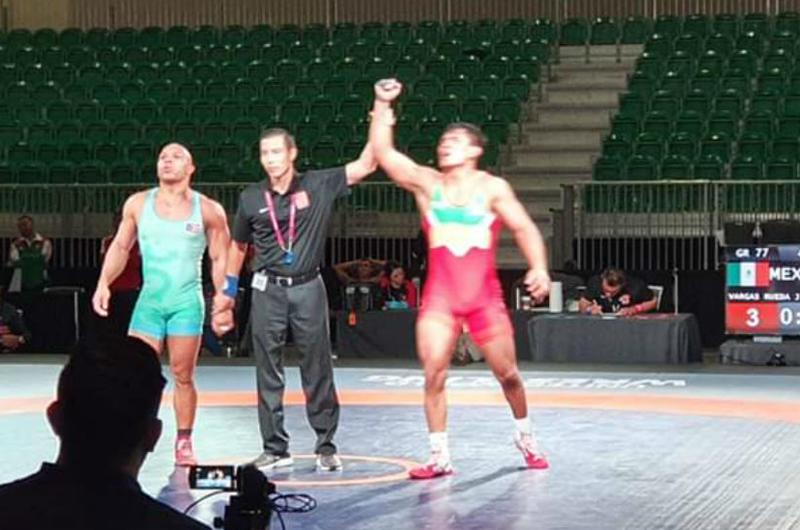 México obtiene un lugar para Juegos Olímpicos en lucha grecorromana