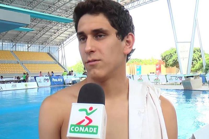 Clavadista Diego Balleza dio otro oro a México en Universiada Mundial