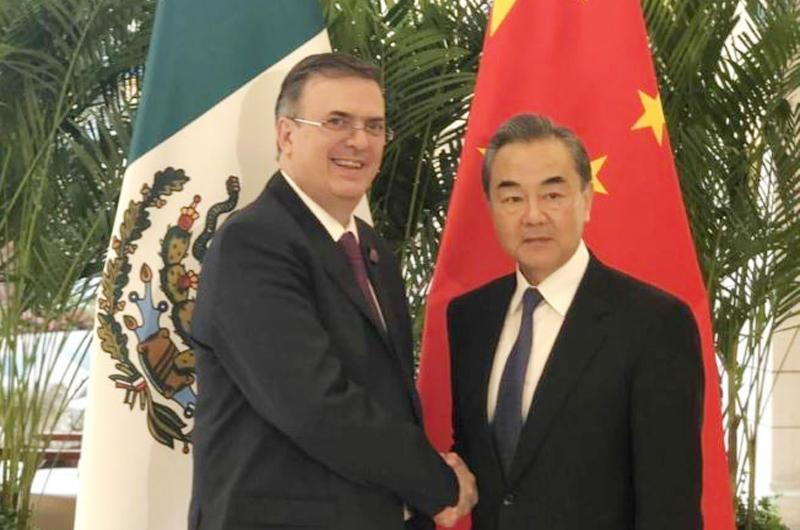 China, país clave en estrategia de diversificación económica: Ebrard
