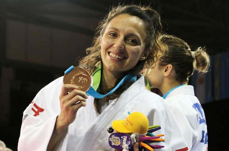 De qué se sorprenden, somos el sexo fuerte: judoca Edna Carrillo