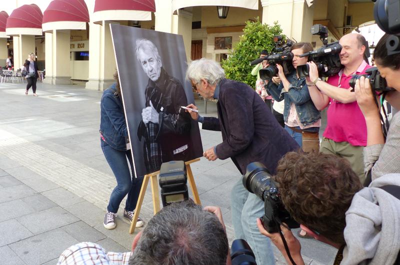 Actor José Sacristán recibe premio Luis Buñuel a 60 años de trayectoría