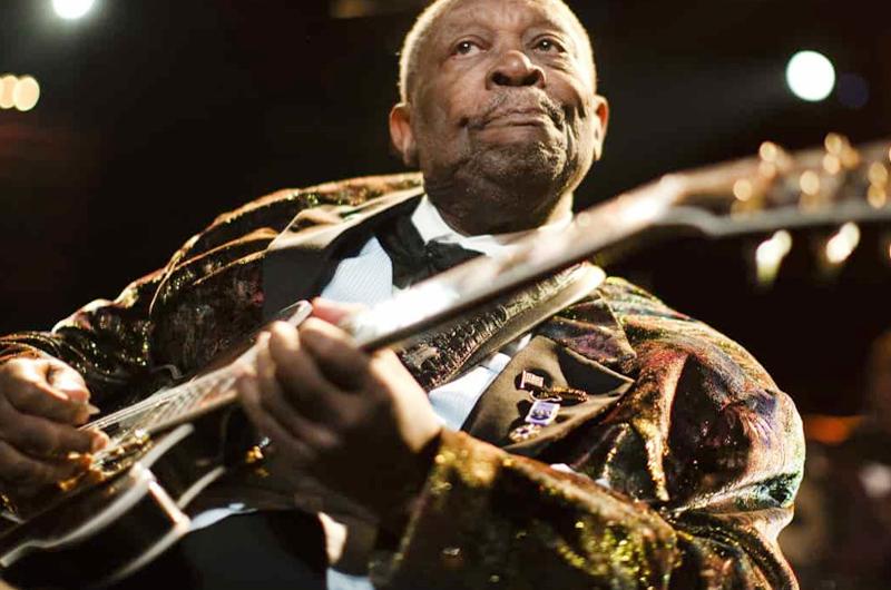 """Subastarán guitarra """"Lucille"""" de B.B. King"""