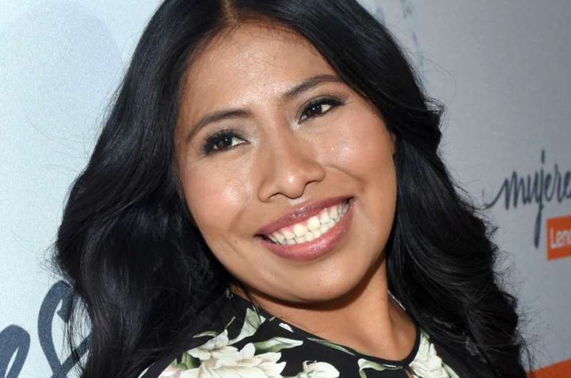 Yalitza Aparicio, promotora de derechos de trabajadoras del hogar
