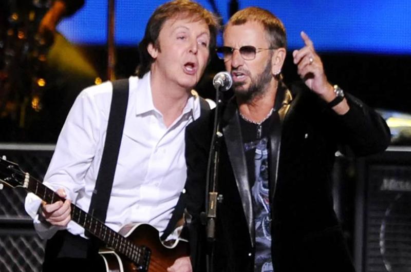 Paul McCartney y Ringo Starr comparten escenario en Los Ángeles