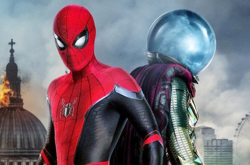 """""""Spider-Man Lejos de casa"""" lidera taquilla de Estados Unidos"""