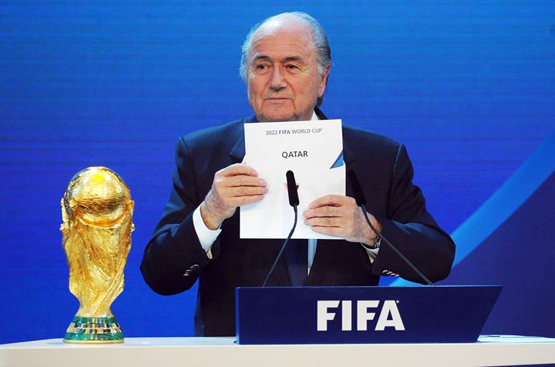 Joseph Blatter: Estados Unidos podría organizar el Mundial de 2022