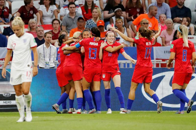 Quiere EU retener el título en Copa del Mundo de fútbol femenil