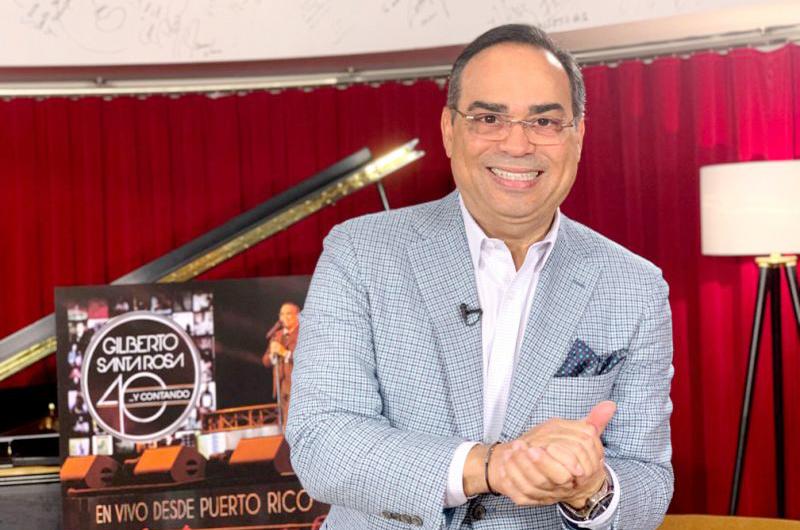 Gilberto Santa Rosa lanzará su nuevo disco