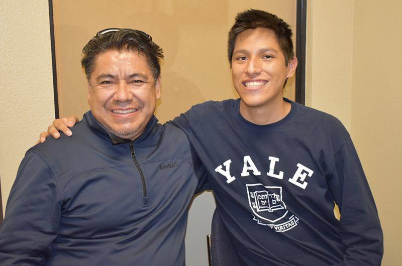 Luciano Romero, de Rancho High School a la Universidad de Yale