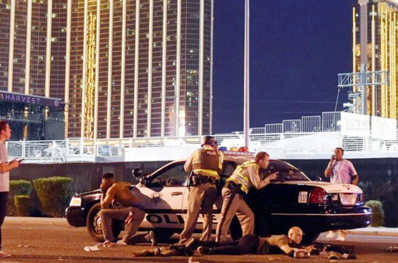 MGM demanda a víctimas de tiroteo en LV para evitar obligaciones