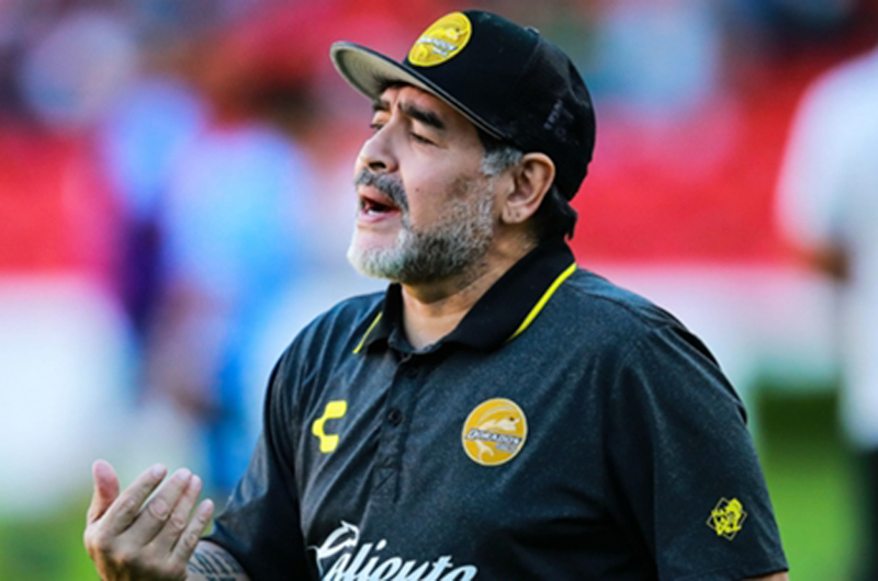 Maradona me ha dado más confianza que otros técnicos: Fernando Arce