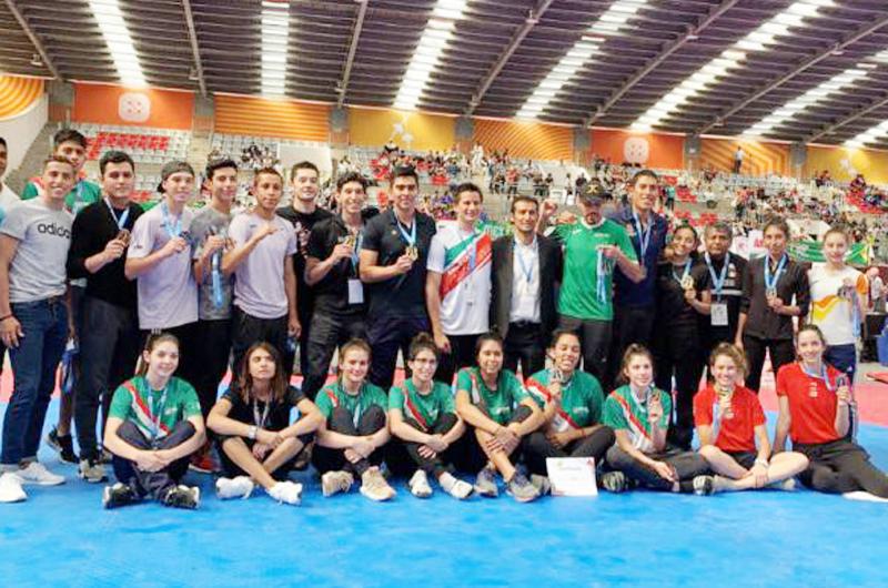 México concluyó con 11 medallas en Abierto de Taekwondo