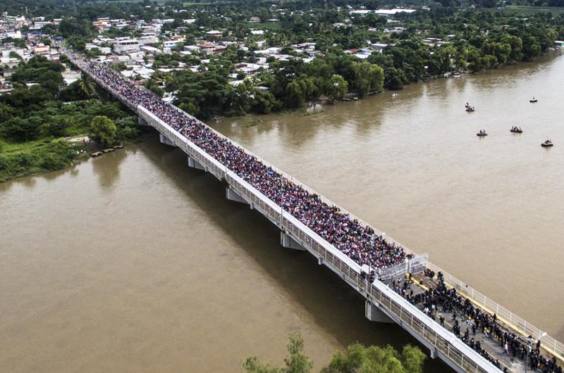 En riesgo estados por migración sin control, advierte senador del PRI