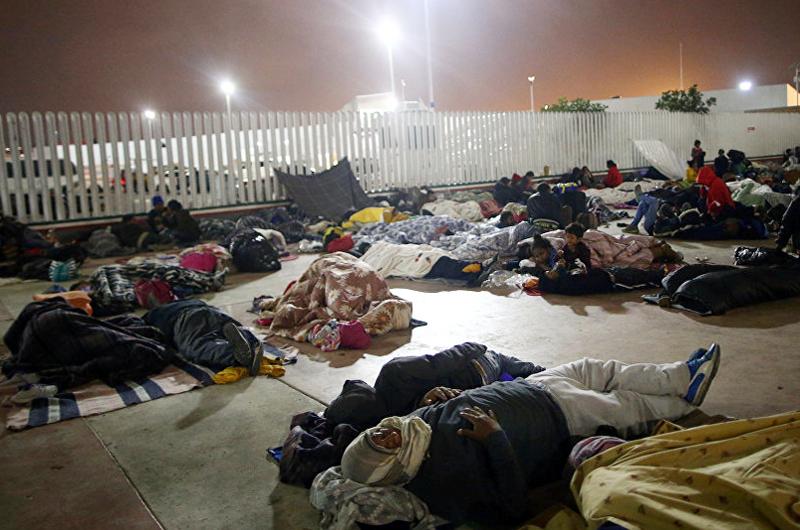 Migrante destaca desesperación por cruzar a EUA en la frontera norte