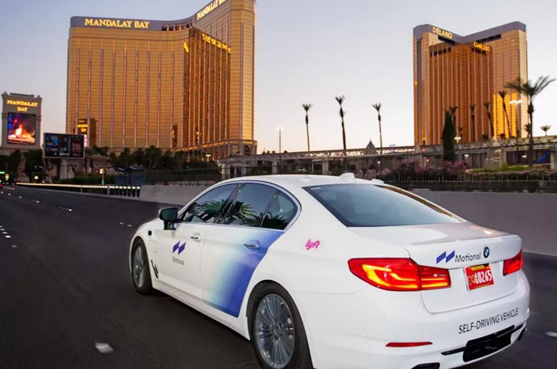 Prueban auto sin conductor en Las Vegas