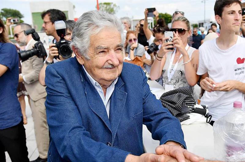 """Mujica pide """"Plan Marshal"""" a favor de África para enfrentar migración"""