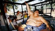 Murió Manuel Uribe Garza, el hombre más gordo del mundo