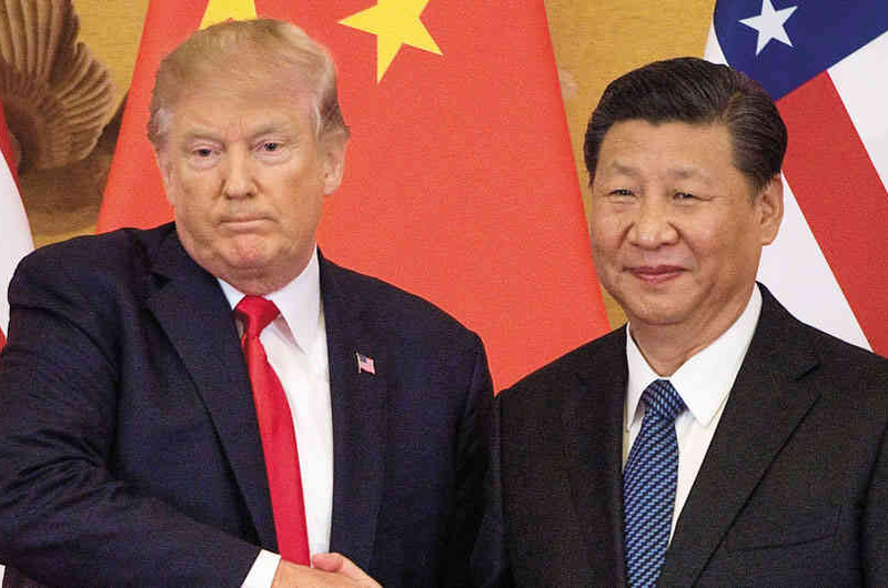 Comercio China-Estados Unidos cae en lo que va de 2019