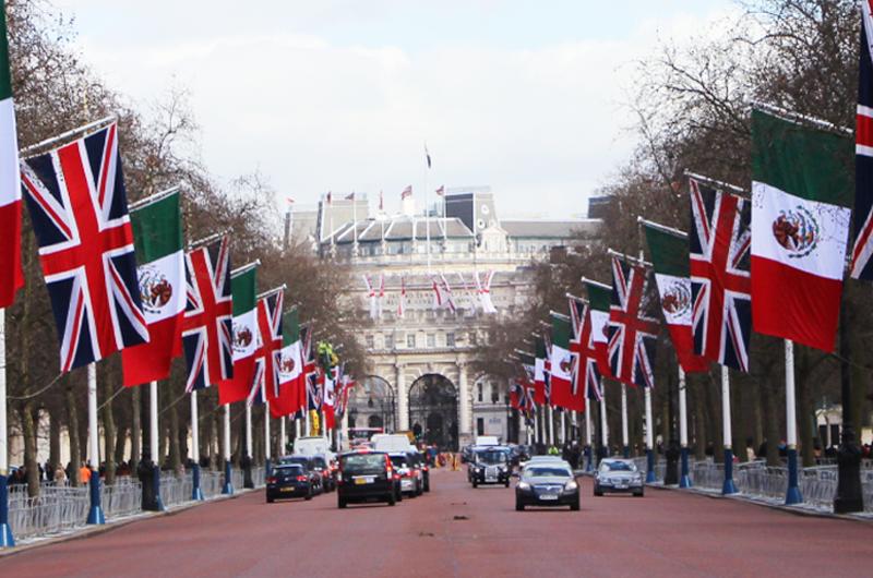 Reino Unido y México por acuerdos comerciales de alto nivel