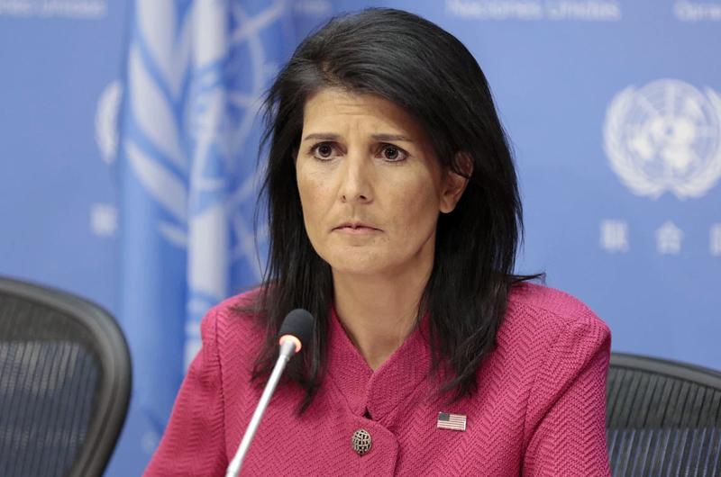 Trump acepta la renuncia de embajadora ante Naciones Unidas