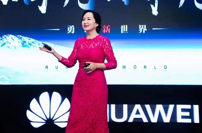 Ejecutiva de empresa china Huawei sigue bajo custodia en Canadá