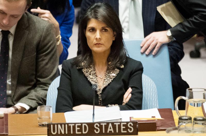 Embajadora Haley llevó a cabo con éxito alejamiento de EUA ante la ONU