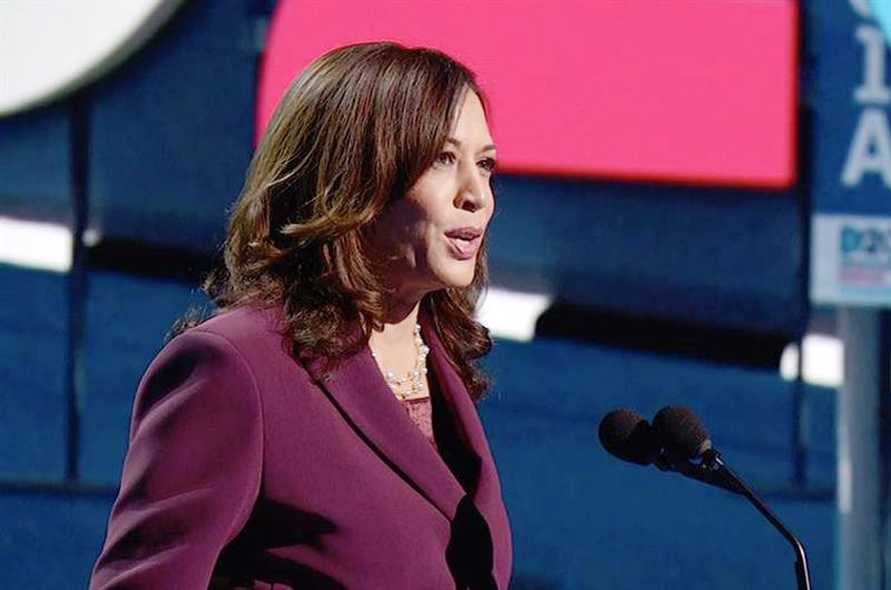 Kamala Harris promete ser una voz de los negocios latinos en la Casa Blanca